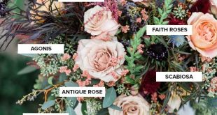 Autumn bouquet recipe + bridal inspiration (100 Layer Cake)