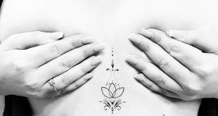 Geometric lotus flower tatt #noamyonatattoos #dotwork #geometrictattoo #dotworkt...