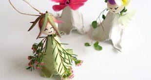 Blumenelfen - Deko für den festlichen Tisch im Spätsommer