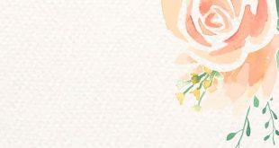 Download premium vector of Watercolor orange flower border vector 893160