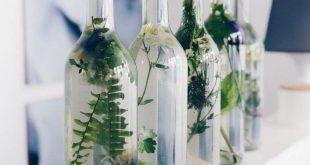 Einfache Blumendeko in Glasflaschen ::: DIY und Gedanken zur Konfirmation