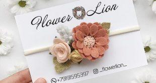 Felt Flower Crown Baby Flower Crown Felt Flower Headband #feltflowerheadbands Fe...