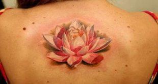 Trendy tattoo back full lotus flowers 37 Ideas