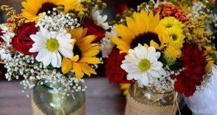 15 Ganz einfache DIY Herbstblumenarrangements