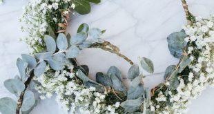 36 romantische Blumenkronen für Frühlings- und Sommerhochzeiten - 2020 - #Bl...