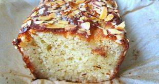 Almond Cake w/ Orange Flower Water Syrup
