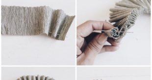 DIY Blumen aus Krepppapier