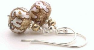 Etched Pearl Earrings. White Freshwater Pearls Etched with Buddhist Om Mantra From Nepal. Lotus Flow