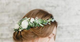 Fall Headpiece Flower Crown Greenery Hair Accessory Wedding Hair Piece Woodland Hair Crown Rustic Wr