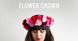 Galentines Day – DIY Flower Crown | by The Makers Society