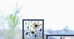 Mother's day craft ideas- PRESS FLOWERS in 3 MINUTES