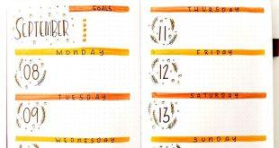 My Fall Bullet Journal Theme Set-Up - Heraldeecreates