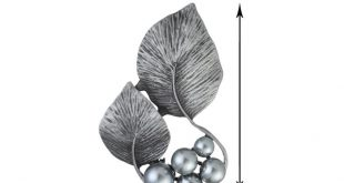 Trendy pearl lotus leaf brooch pin vintage brooches plant leaves lotus flower brooch clothes jewelry party accessories