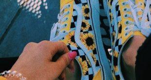 vans flowers #aikochaussure #basketfemme #vans #vansfemme